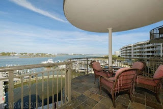 Porto Del Sol Condo For Sale Orange Beach AL Real Estate Unit 302 Balcony View