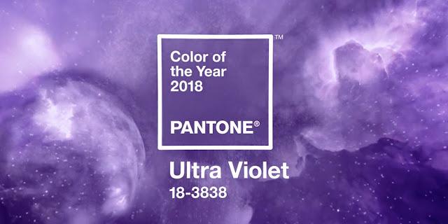 Depois do Greenery, é agora a vez do Ultra Violet ser eleito a Cor do Ano 2018. Pantone.