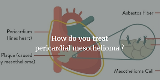 How do you treat pericardial mesothelioma ?