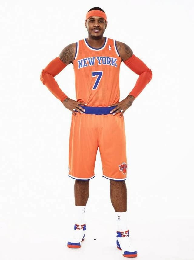 DP Review of the Alternate Knicks Orange Jersey 7a9cca00e
