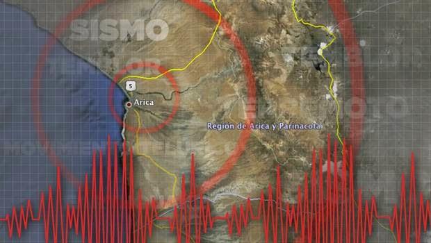 TERREMOTO DE 7,0 GRADOS SACUDE NORTE DE CHILE, EL 16 DE MARZO DE 2014