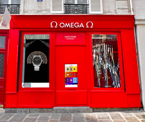 Boutique Pop-Up de correas NATO de Omega