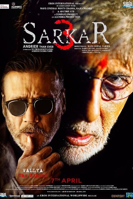 Sarkar 3 (2017) HDRip 720p Subtitle Indonesia