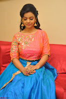 Nithya Shetty in Orange Choli at Kalamandir Foundation 7th anniversary Celebrations ~  Actress Galleries 094.JPG