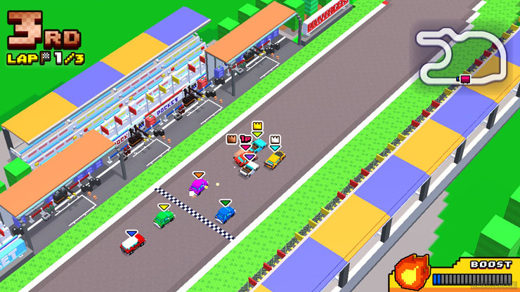 Review: Chiki Chiki Boxy Racers (Nintendo Switch