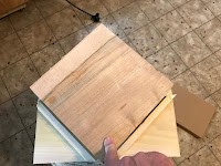 Test fit with a block of maple