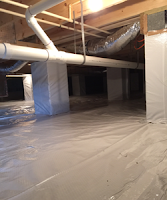 Conditioned Crawl Space with added storage - view 3