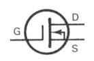 Transistor Symbol - MOSFET N Channel