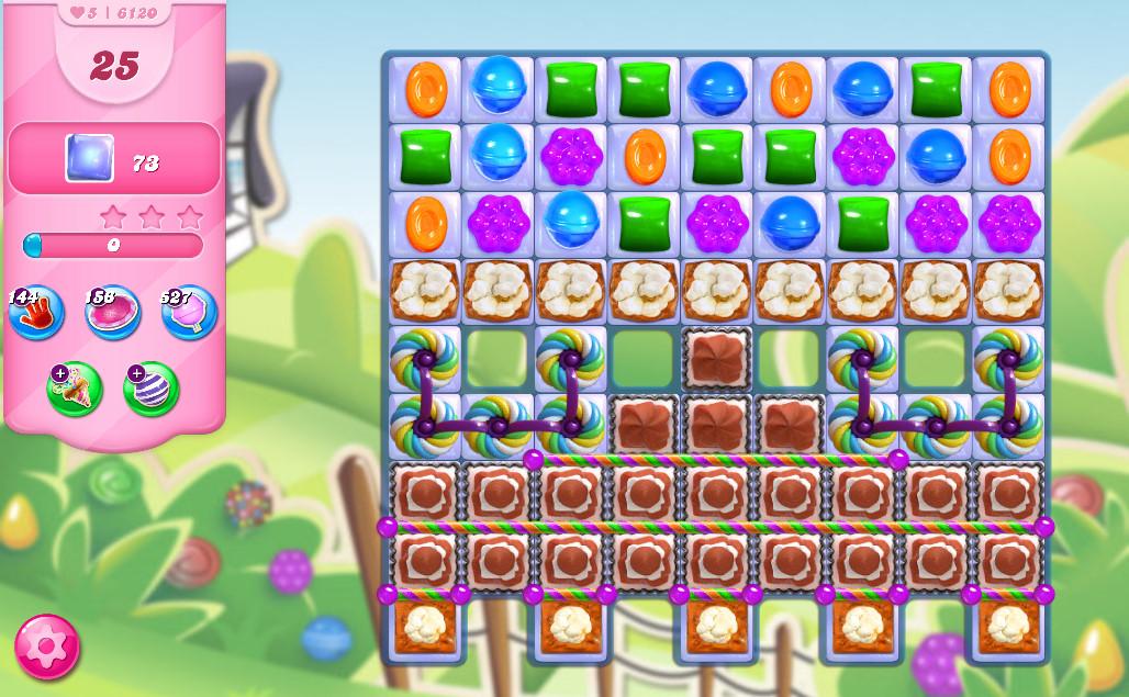 Candy Crush Saga level 6120