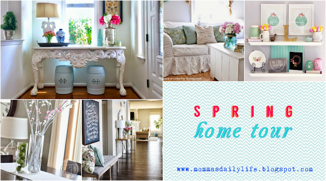 spring home tour, momma's daily life