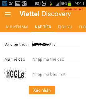 [HOT] Ứng dụng tra cứu thông tin và cước phát sinh hằng ngày mạng Viettel
