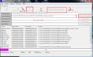 Cara Flash Lenovo A850 Matot