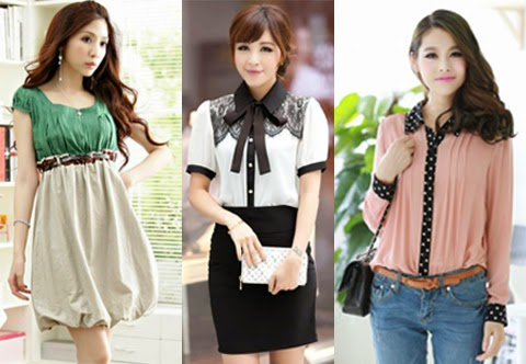 Contoh Model Baju Korea Terbaru