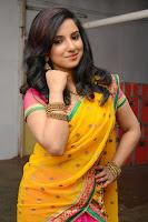 Actress Leema half saree Photo Shoot HeyAndhra