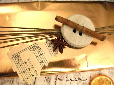Pacchetto regalo per Natale Natural Glam - dettaglio 1 - My Little Inspirations