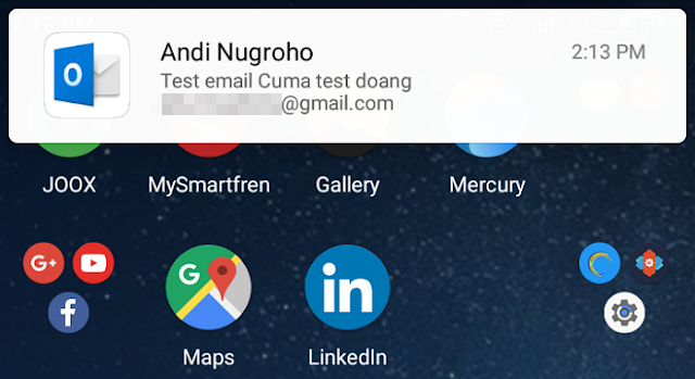 Cara Mengatur Notifikasi Outlook di Android/iPhone