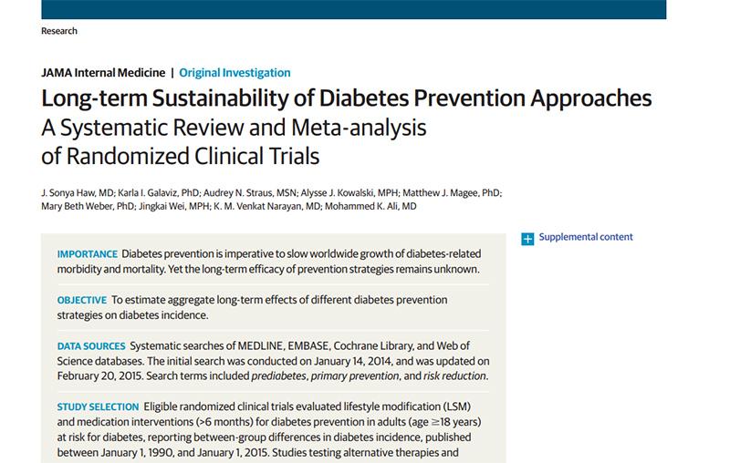 estructura de conclusión del ensayo de diabetes tipo 2