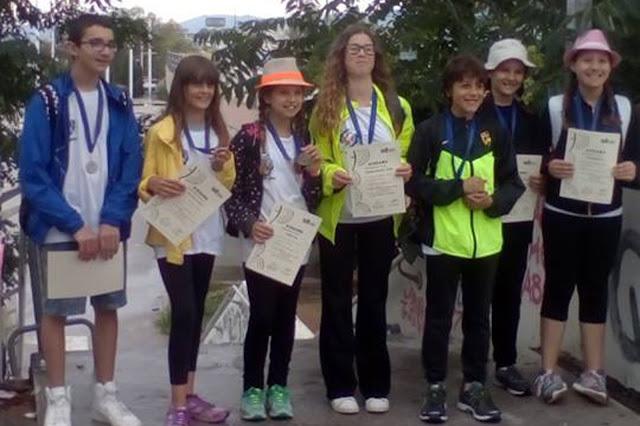 Με πέντε μετάλλια επέστρεψε ο ΦΟΙΝΙΚΑΣ Αργολίδας από τον Πανελλήνιο Αγώνα Μικρών Ηλικιών στο ΟΑΚΑ