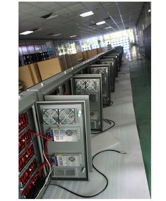 Màn hình led P4 cabinet nhập khẩu tại quận 4