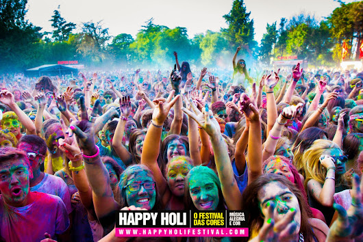 Revista Showbar: Happy Holi