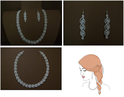 InWhite Tatting Jewelry Collection
