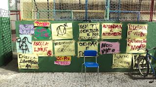 Foto da Ocupação da Esc. de Ensino Fundamental e Médio João Mattos