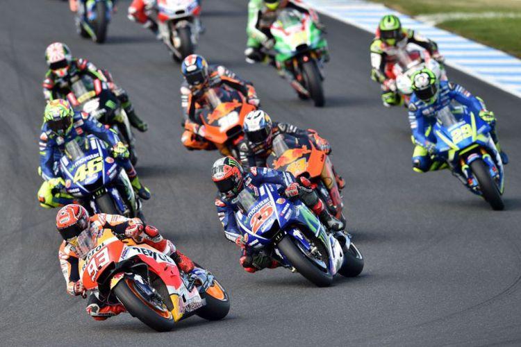 Marquez Juara GP Australia, Rossi-Vinales Juga Podium
