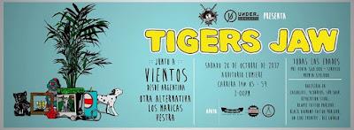 Concierto de TIGERS JAW en Bogotá