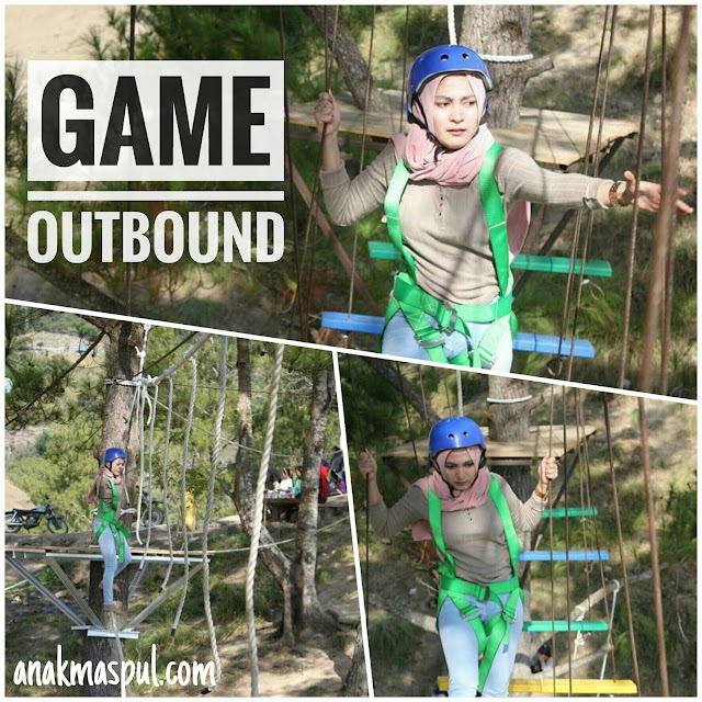 Game Outbound di Bukit Cekong