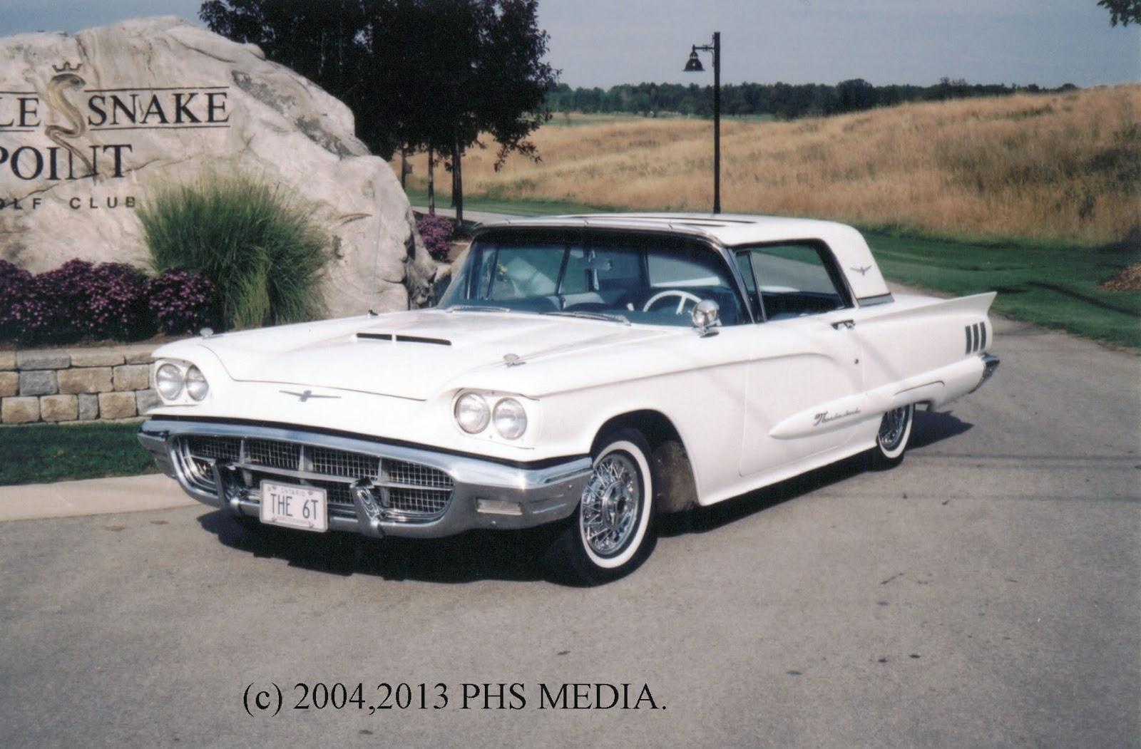1960 ford thunderbird gold bird sunroof