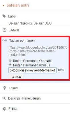 Cara Membuat dan Memposting Artikel di Blogger Lengkap dan Mudah