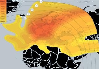 Les frequences d Eutelsat 8 West A  8° West sur l orbite de nilesat