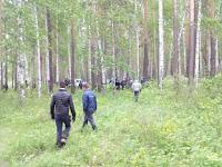 (ФОТО) Прочесывание леса в поиска 4 летнего ребенка