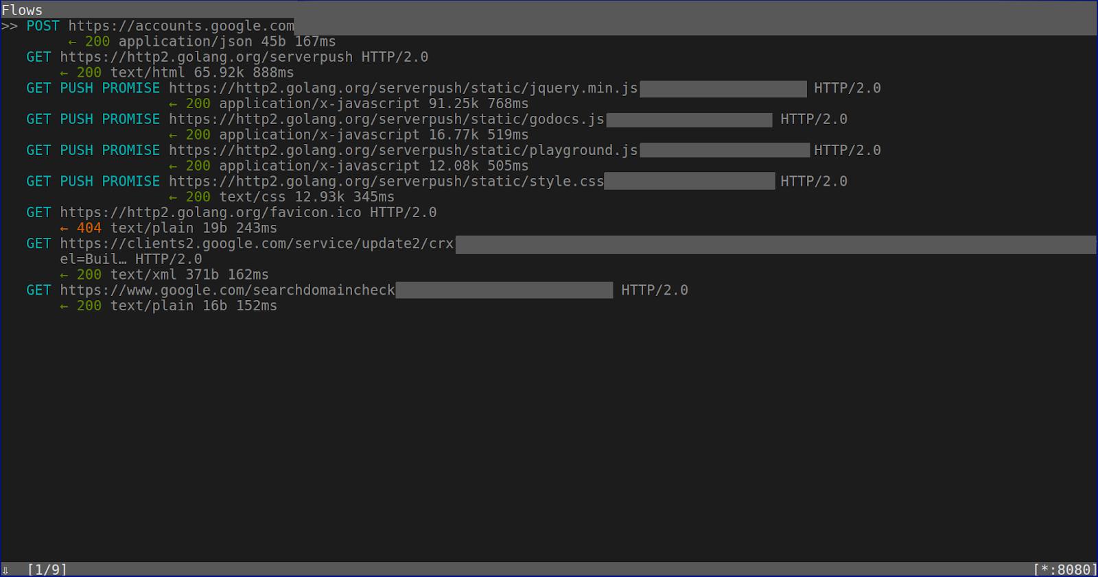 a ⊕ b: Mitmproxy  Decrypting TLS traffic in Wireshark