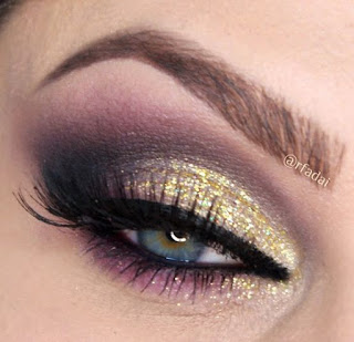 Maquillaje-noche-glitter