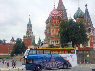 Kemenpar Promosi Wonderful Indonesia Moscow dan St Petersburg