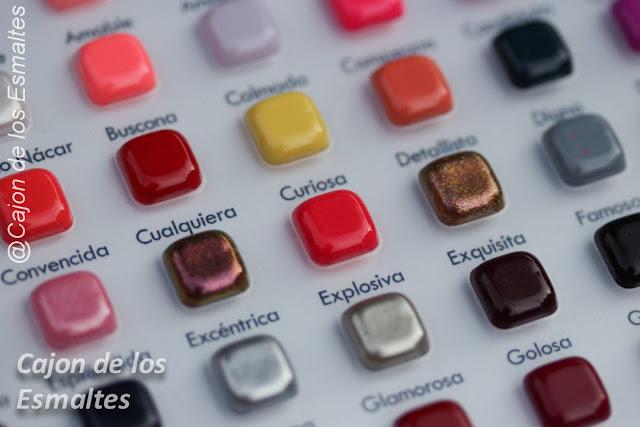 Catálogo de colores - Masglo