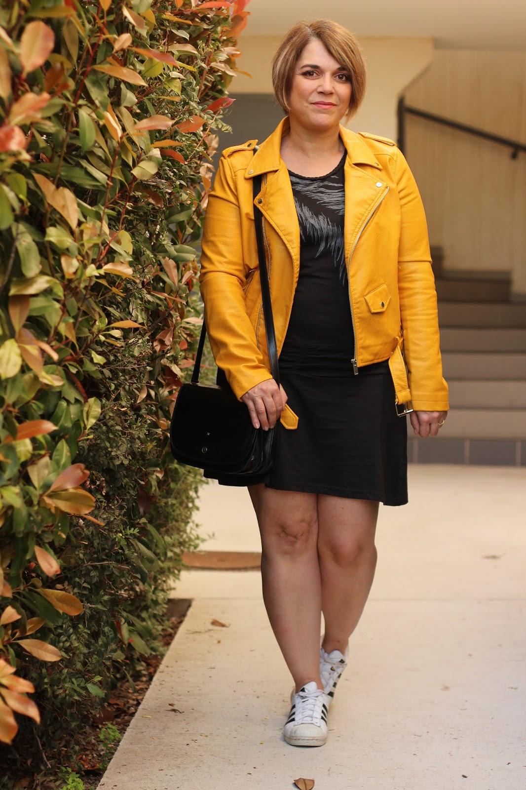 Ootd veste jaune