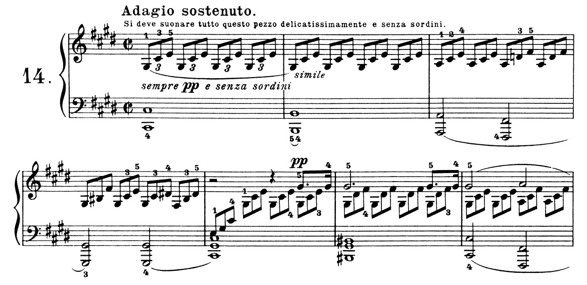 Musical Musings: Beethoven - Piano Sonata No  14 In C-sharp Minor