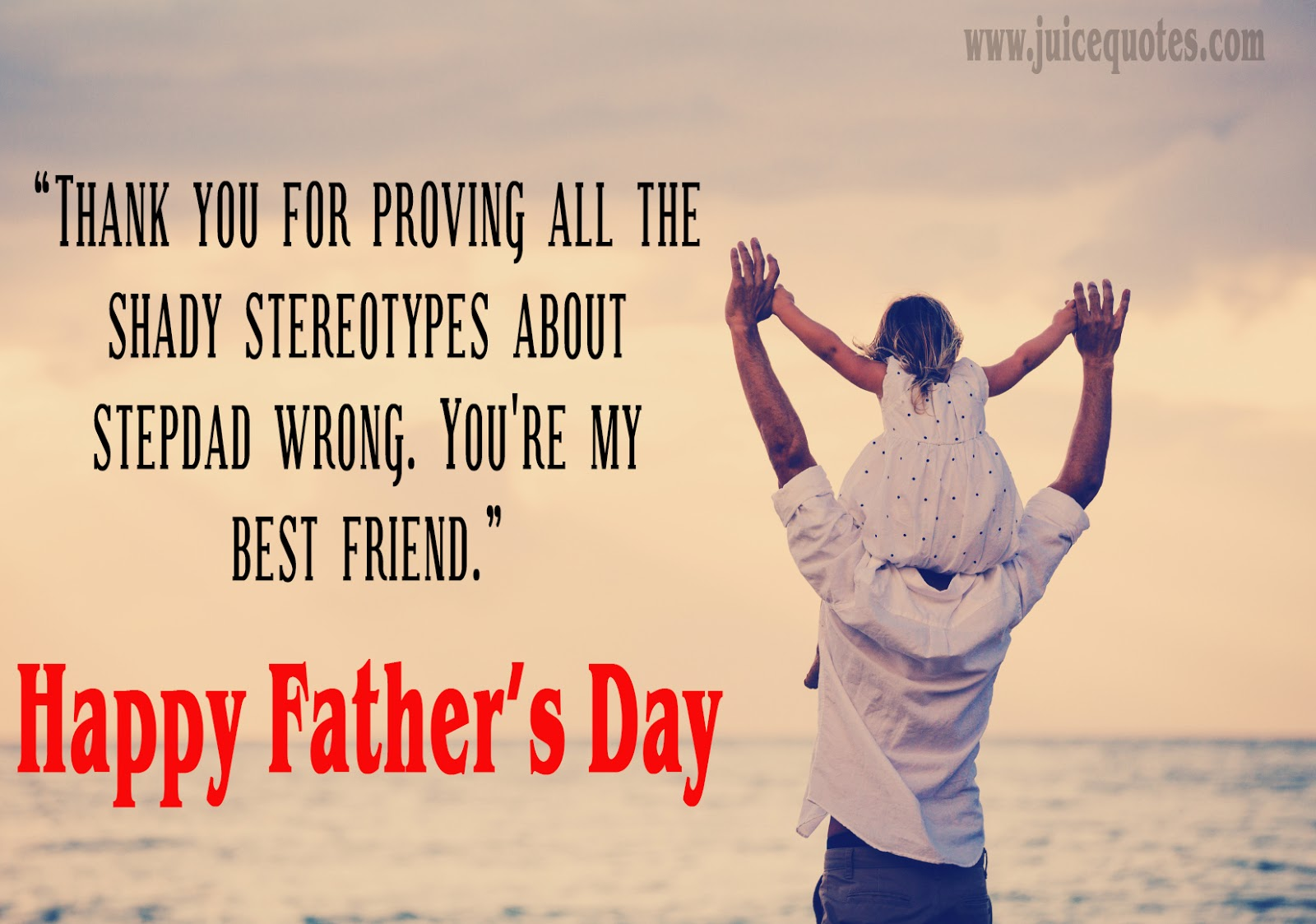 Beautiful Happy Fathers Day Wishes And Quotes With Images Juicy Quote