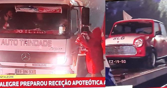 Visita do Benfica a Montalegre