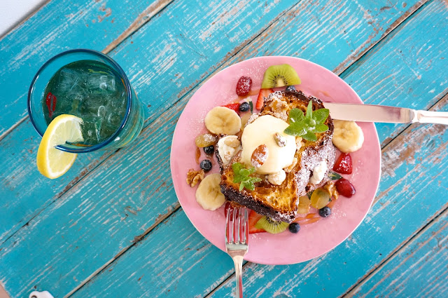富山 cafe & bar micka 富山市 カフェ バー ミクカ デニッシュのフレンチトースト