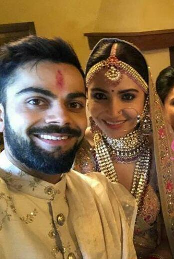 Wedding Pictures of Anushka Sharma And Virat Kohli