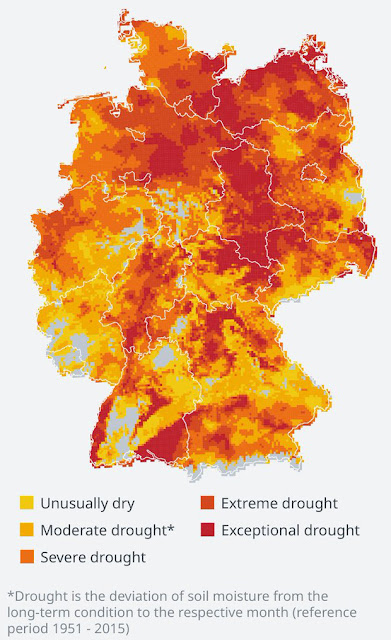 germany total soil dryness drought