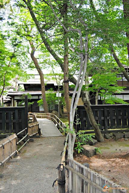 Kakunodate SAMURAI Giappone Tohoku abitazioni samurai