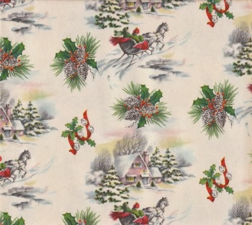 The Estate Sale Chronicles: Vintage Christmas Gift Wrap