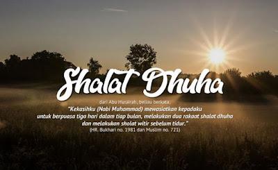 Tata cara shalat Dhuha - pustakapengetahuan.com