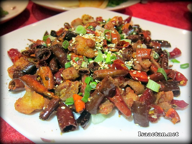 Be prepared to taste some really spicy dishes at Si Chuan Dou Hua Restaurant Parkroyal KL