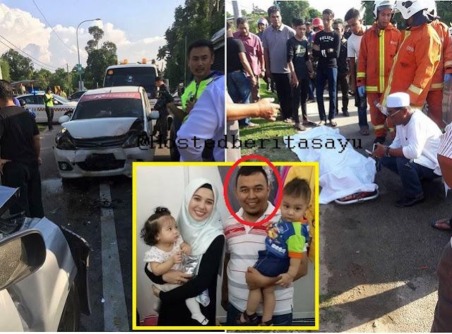 Selamat Tinggal .. Ramadan Terakhir Untuk Ayah 3 Anak Ini Dia Maut Kemalangan (10 Gambar)