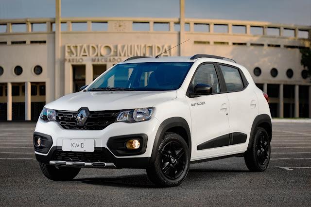 Novo Renault Kwid Outsider 2020